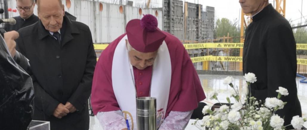 22 września w Rzeszowie miała miejsce uroczystość poświęcenia murów nowo budującego się pijarskiego kompleksu edukacyjnego i wmurowania aktu erekcyjnego oraz kamienia węgielnego.