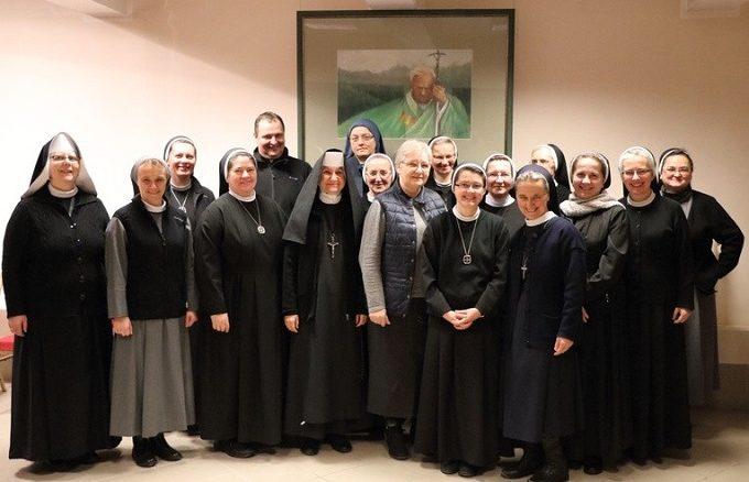 W Centrum Duszpasterskim Archidiecezji Warmińskiej odbyło się spotkanie osób życia konsekrowanego.