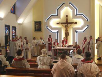 28 stycznia 2019 roku, we wspomnienie św. Tomasza z Akwinu, Księża Pallotyni Prowincji Zwiastowania Pańskiego rozpoczęli w Ząbkowicach Śląskich IX Zebranie Prowincjalne.