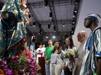 Po południu na bulwarze Cinta Costera odbyła się ceremonia powitania Ojca św. i otwarcia 34. Światowych Dni Młodzieży w Panamie.