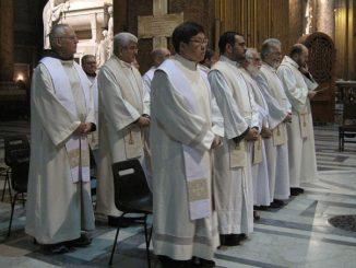 W dniach 8-12 stycznia 2019 r. w klasztorze Świętych Apostołów odbyło się spotkanie nowych ministrów prowincjalnych, kustoszów i sekretarzy z Definitorium generalnym.