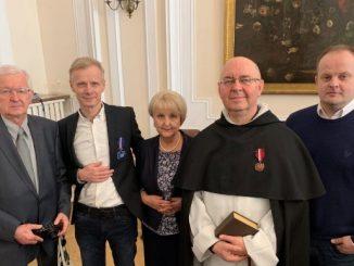 Nasi dwaj bracia: Piotr Baron OPs (tercjarz) i Andrzej Bujnowski OP zostali odznaczeni Medalem Gloria Artis.