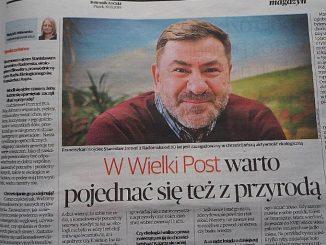 """W piątkowym magazynie Dziennika Łódzkiego ukazał się wywiad Matyldy Witkowskiej z o. Stanisławem Jaromi pt. """"W Wielki Post warto pojednać się też z przyrodą"""". Publikujemy <a class=""""mh-excerpt-more"""" href=""""https://www.zyciezakonne.pl/wiadomosci/kraj/pojednac-sie-z-przyroda-w-wielkim-poscie-84680/"""" title=""""Pojednać się z przyrodą w Wielkim Poście"""">[...]</a>"""