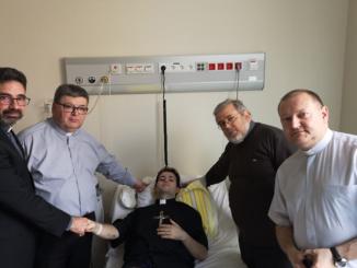 """Wpiątek 24 maja nałóżku szpitalnym oddziału onkologicznego wSzpitalu Wojskowym wWarszawie bardzo ciężko chory Michał, kleryk Zgromadzenia Księży Orionistów zrąk Księdza Biskupa Marka Solarczyka przyjął święcenia <a class=""""mh-excerpt-more"""" href=""""https://www.zyciezakonne.pl/wiadomosci/kraj/nadzwyczajne-sluby-wieczyste-i-swiecenia-86418/"""" title=""""Nadzwyczajne śluby wieczyste i święcenia"""">[...]</a>"""