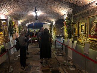 """Chrześcijańskie Stowarzyszenie Twórców Sztuki Sakralnej ECCLESIA, a dokładniej mówiąc działająca w nim grupa LUMEN, zorganizowała wystawę i performance zatytułowane """"Ogrody Boga""""."""