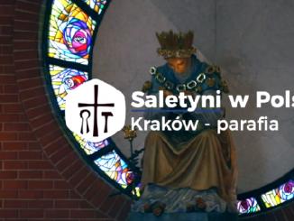 """Piąty odcinek serii """"Saletyni wPolsce"""" przedstawia parafię pw.Matki Bożej Saletyńskiej naosiedlu Cegielniana wKrakowie. Wnajbliższym sąsiedztwie osiedla znajduje się sanktuarium Bożego Miłosierdzia wŁagiewnikach."""