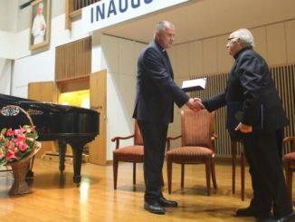 Sercanin, ks. dr hab. Marian Radwan został uhonorowany medalem Jubileuszowym 100-lecia KUL.