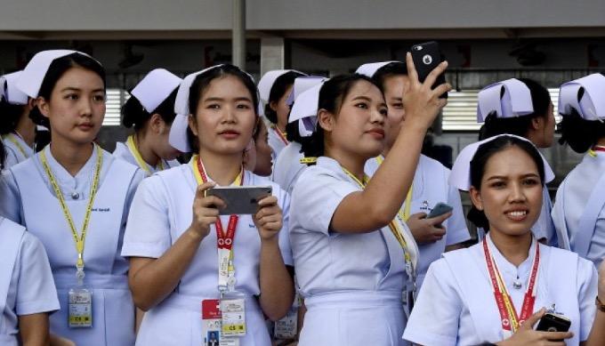 """""""Jest dla mnie darem ujrzenie osobiście tej cennej posługi, jaką Kościół oferuje mieszkańcom Tajlandii, zwłaszcza najbardziej potrzebującym"""""""