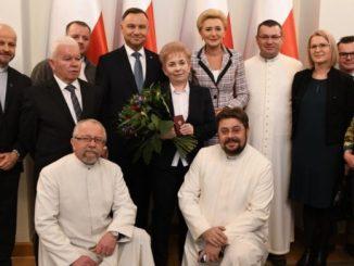 8 stycznia 2020 roku Prezydent Rzeczypospolitej Polskiej Andrzej Duda odznaczył osoby ratujące życie ludzkie. Uroczystość odbyła się w sali kolumnowej Pałacu Prezydenckiego.