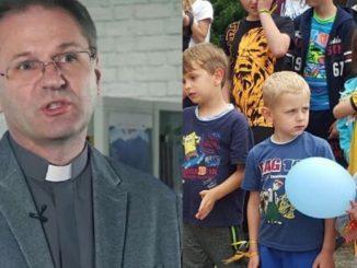 """W Żmiącej najważniejsze są dzieci. Są to sieroty i półsieroty, które zasługują na najfajniejsze wakacje"""" – podkreśla Artur Demkowicz SJ."""