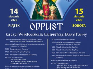 Zbliża się największy odpust w kodeńskim sanktuarium. W dniach 14-15 sierpnia do duchowej stolicy Podlasia przybywa kilkadziesiąt tysięcy pielgrzymów.