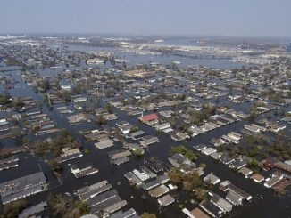 Miasto Nowy Orelan jak i cały stan Luizjana jest szczególnie podatny na ataki huraganów, które kończą się podwoziami.